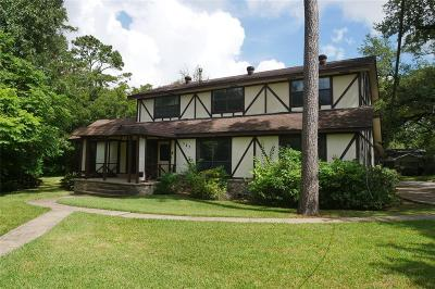 Hunters Creek Village Single Family Home For Sale: 587 Voss Road
