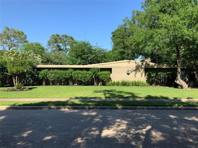Houston Single Family Home For Sale: 414 Isolde Drive
