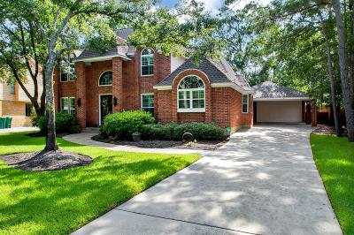 The Woodlands Single Family Home For Sale: 154 Golden Shadow Circle