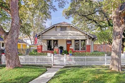 Houston Single Family Home For Sale: 1341 Waverly Street
