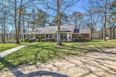 Willis Single Family Home Pending: 13421 E Fm 1097 Road