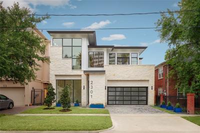 Houston TX Single Family Home For Sale: $2,195,000