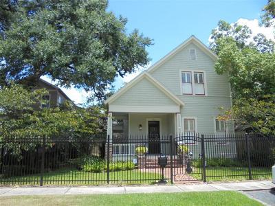 Houston Single Family Home For Sale: 942 Ashland Street