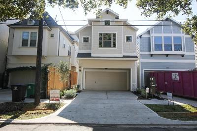 Houston Single Family Home For Sale: 5233 Petty Street