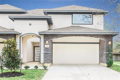 Houston Condo/Townhouse For Sale: 3304 Kilgore Street