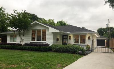 Houston Single Family Home For Sale: 2015 De Milo Drive