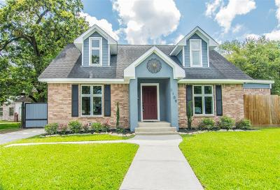 Houston Single Family Home For Sale: 1109 Altic Street