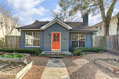 Houston Single Family Home For Sale: 2121 Bissonnet Street