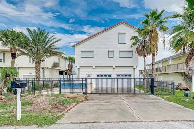 Galveston Single Family Home For Sale: 207 Isles End Road