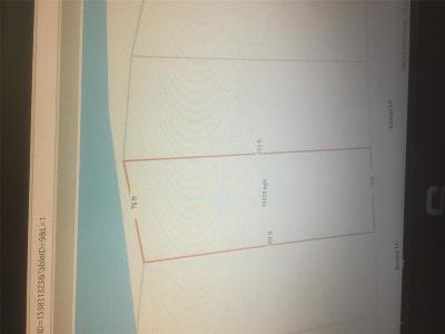 Galveston Residential Lots & Land For Sale: 9802 Airways Lane