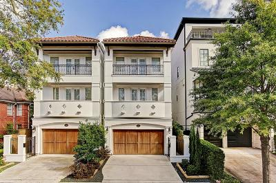 Houston Single Family Home For Sale: 1734 Bolsover Street