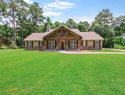 Willis Single Family Home For Sale: 11505 Oak Springs Drive