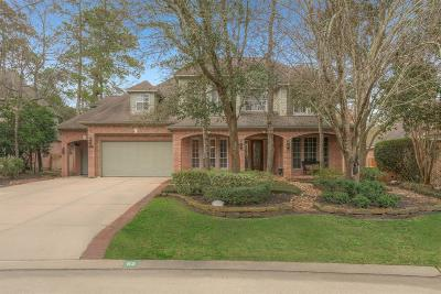 The Woodlands Single Family Home For Sale: 62 Glentrace Circle