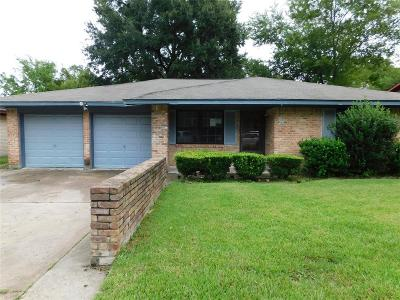 Houston TX Single Family Home For Sale: $90,000