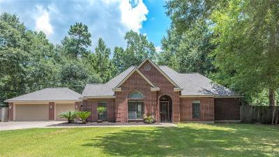 Huffman Single Family Home For Sale: 707 Vista Del Lago Drive