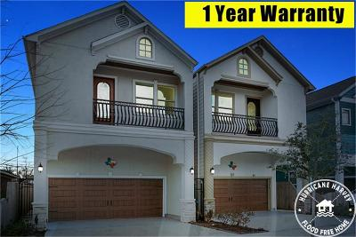 Houston Single Family Home For Sale: 925 Lawrence Street
