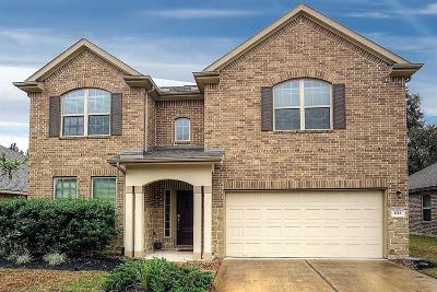 Conroe Single Family Home For Sale: 1712 Balsam Spruce Circle