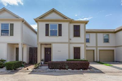 Houston Condo/Townhouse For Sale: 1711 Redwing Cove Drive