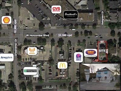 Residential Lots & Land For Sale: 2231 W Holcombe Boulevard