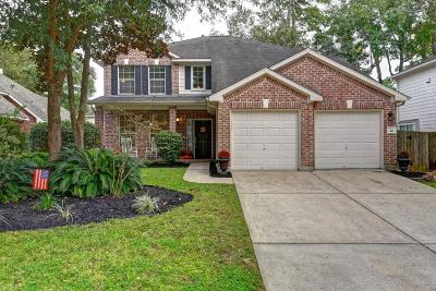 The Woodlands Single Family Home For Sale: 46 N Misty Canyon Place
