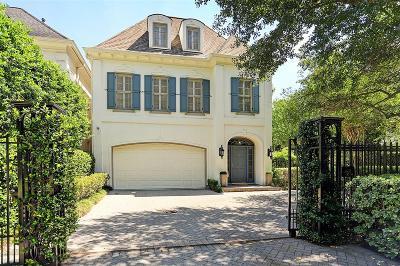 Houston TX Single Family Home For Sale: $1,199,000
