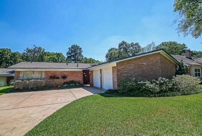 Houston Single Family Home For Sale: 5423 Indigo Street