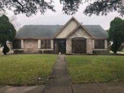 Houston Single Family Home For Sale: 8518 Hiawatha Drive