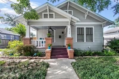 Houston Single Family Home For Sale: 712 W Temple Street