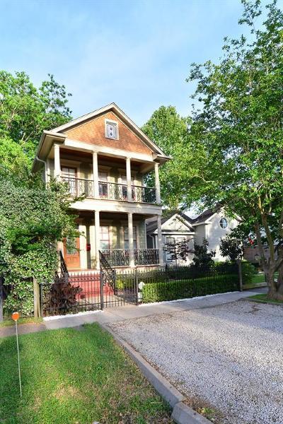 Houston Single Family Home For Sale: 916 Rutland Street