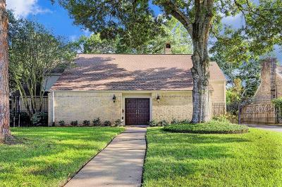 Briargrove Park Single Family Home For Sale: 10219 Briar Forest Drive