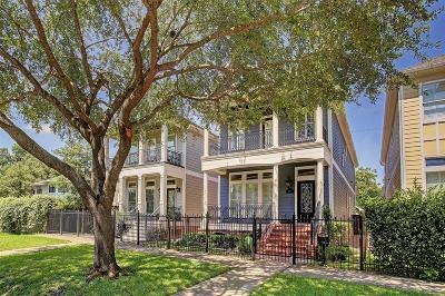 Houston Single Family Home For Sale: 1217 Waverly Street