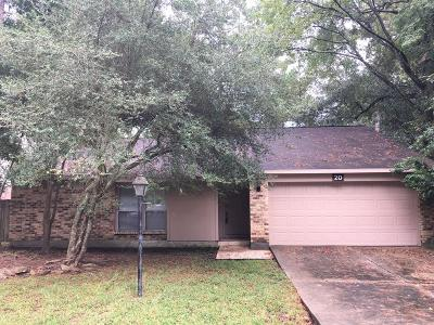 The Woodlands TX Single Family Home For Sale: $155,000