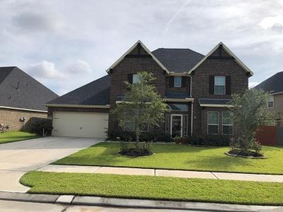 Rosenberg Single Family Home For Sale: 9507 Wheatfield Lane
