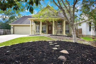 The Woodlands Single Family Home For Sale: 207 Lattice Gate Street