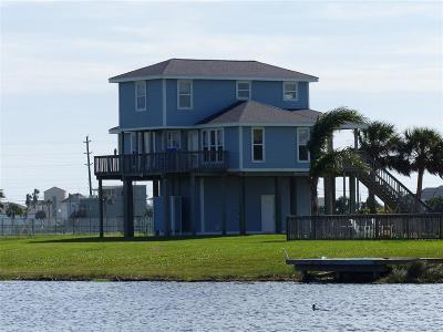 Galveston Single Family Home For Sale: 4003 Indian Beach Drive N
