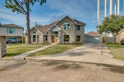 Katy Single Family Home For Sale: 20534 Hampshire Rocks Drive