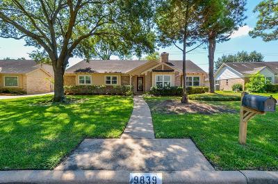 Houston Single Family Home For Sale: 9839 Canoga Lane