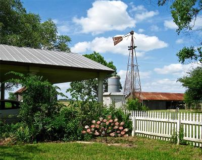 Fort Bend County Farm & Ranch For Sale: 14530 Bj Dusek Road