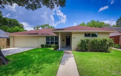 Houston Single Family Home For Sale: 5634 Ludington Drive