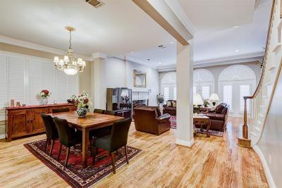 Houston Condo/Townhouse For Sale: 5811 Candlewood Lane Lane
