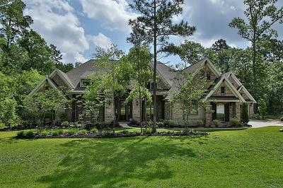 Conroe TX Single Family Home For Sale: $619,900