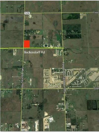 Katy Residential Lots & Land For Sale: Katy Hockley Road