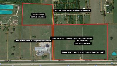 Weimar Farm & Ranch For Sale: County Road/Interstate 10