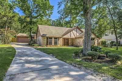 Spring Single Family Home For Sale: 6502 Meadowtrace