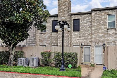 Houston Condo/Townhouse For Sale: 2850 Holly Hall Street #2850