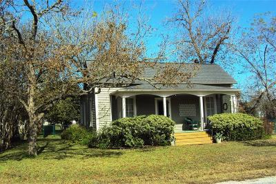Colorado County Single Family Home For Sale: 201 E Saint Charles