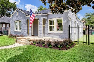 Houston Single Family Home For Sale: 901 Key Street