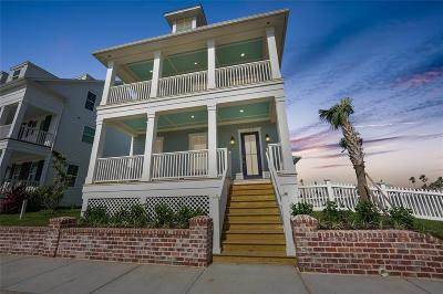 Galveston Single Family Home For Sale: 130 Island Passage
