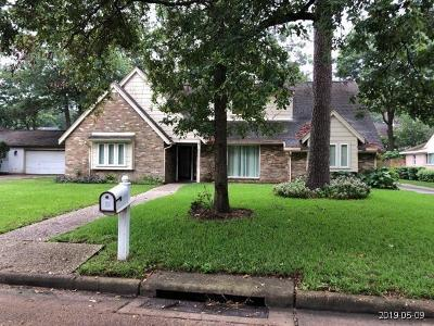 Houston Single Family Home For Sale: 5323 Dana Leigh Drive