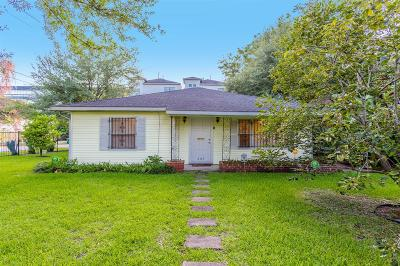 Houston Single Family Home For Sale: 603 Birdsall Street